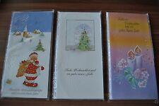15 Stück verschiedene Weihnachtskarten Grußkarten Klappkarten (C3)