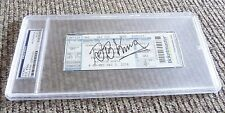 BB King Signed Autographed PSA Certified & Slabbed Grammy's Party Concert Ticket