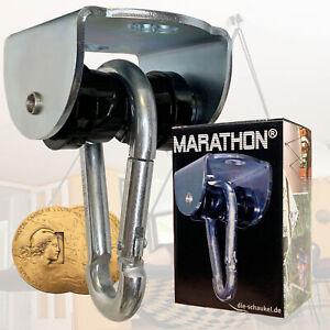 MARATHON® Schaukelhaken - Lautloses Aufhängesystem mit aushängbaren Karabiner