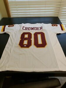 Jamison Crowder Autographed Signed Football Jersey JSA Washington Redskins NFL