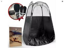 Thermalabs Pop Up Fold Down Spray Tanning Tent with Accessories and Carry Case