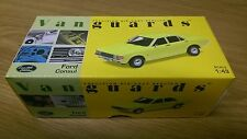 Corgi VA05502 Ford Consul Daytona Yellow No.0002/4000