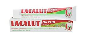 LACALUT Herbal aktiv Medical Toothpaste Active 75 ml Germany professional oral