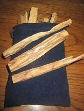RARE PALO SANTO AROMATIC WOOD INCENSE STICKS (holy wood) -FRESH!