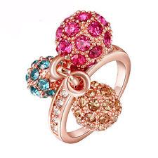 Ringe aus Rotgold mit Diamant Edelsteine