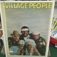 Village People Poster New 1979 Rare Vintage Collectible Oop