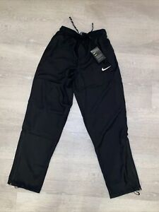 Men's Nike Dry Fit Anthracite Running Training Pants 897038-060 Size Small