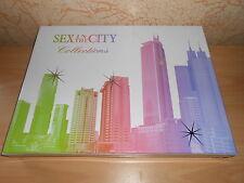 gros coffret SEX IN THE CITY 3 eaux de parfum + 3 vapos de sac + 3 laits - neuf
