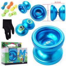 Professionelle Yo-Yo YoYo Rainbow T6 Magic JoJo Blau Spielzeug Jo Jo TH4