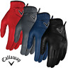 """NEW 2019"" CALLAWAY OPTI-COLOUR PREMIUM LEATHER MENS GOLF GLOVE / ALL SIZES"