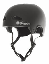 SHADOW CONSPIRACY FEATHERWEIGHT HELMET LG / XL BMX BIKE BICYCLE MATTE BLACK NEW