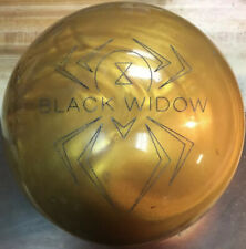 15lb Hammer Black Widow Gold Bowling Ball