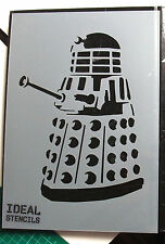 Dalek Stencil Dr Who single layer Art Craft  Décor Paint Reusable Ideal Stencils