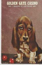 Las Vegas Colden Gate Casino in the Sal Sagev Hotel Comic Dog Postcard 1969