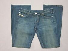 DIESEL LOWKY B.C. 60B WOMENS BOOTCUT FIT FLARE JEANS SIZE 31 LONG NEW MADE ITALY