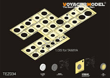 Voyager TEZ034 1/35 WWII AFV Road Wheels Stenciling Templates for Tamiya kit