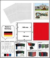 10 LOOK 338575 POSTKARTENHÜLLEN NUMOH 2C NH2C 169x106mm + ZWL-R Für POSTKARTEN