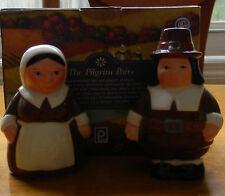 Pilgrim Pair salt and pepper shakers Publix 2006