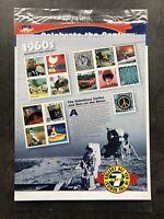 USA Briefmarken Bogen 15x 33 Cent 1999 Celebrate the Century 1960s Stamp Sheet