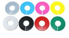 Blank Round Plastic Rack Dividers Bulk Pick A Colorpick A Quantity 10 To 200 Pk