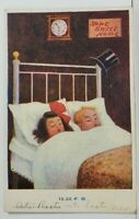 Kathleen Mathew Day in a Boys Life 10:30pm c1907 Postcard N12
