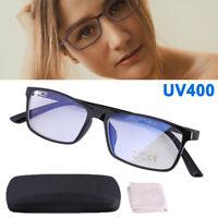 Anti Blue Light & Anti Block Glare Computer Game Reading Glasses Readers Unisex