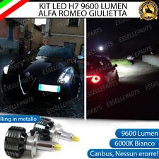 KIT FULL LED H7 6000K PER LENTICOLARI ALFA ROMEO GIULIETTA NO AVARIA