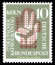 EBS Germany 1956 Catholics' Day Katholikentag Michel 239 MNH**