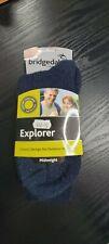 Mens Bridgedale Explorer Midweight Socks Size M 6-8.5