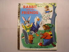LGB Rabbit and His Friends, Richard Scarry, 2nd Printing, 1973