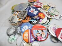 Mixed lot of buttons Pinbacks a few political local Texas area