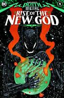 DARK NIGHTS DEATH METAL RISE OF THE NEW GOD #1 NM BATMAN WHO LAUGHS ROBIN KING