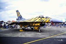2/179-2 General Dynamics F-16 Tiger Meet Belgium Air Force 31 Kodachrome SLIDE