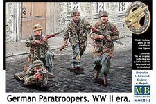 MasterBox MB35145 1/35 German Paratroopers WW II era