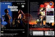 SLEEPLESS IN SEATTLE =collectors Tom Hanks Meg Ryan NEW (Region 4 Australia)