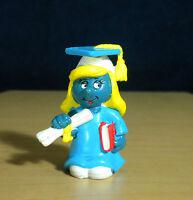 Smurfs 20151 Graduation Smurfette Graduate Figure W Berrie Vintage PVC Toy Peyo