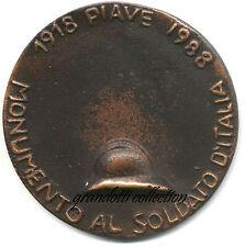 PIAVE MONUMENTO AL SOLDATO D'ITALIA 1988 RARA MEDAGLIA