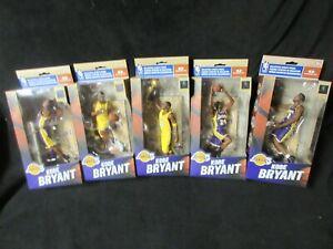 McFarlane 2010 NBA Kobe Bryant Los Angeles Lakers Championship Set of 5 RARE!!!!