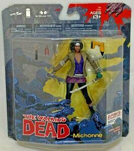 MISP McFarlane Walking Dead MICHONNE Comic Book Series 1 Action Figure