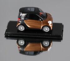 BUSCH 50706 (H0, 1:87) - Smart Fortwo Cabrio '14 braun metallic CMD - NEUWARE!