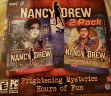 Nancy Drew Ghost Of Thornton Hall+ The Shattered Medallion PC Game 2 PACK  NEW