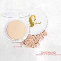 Chao Nang Foundation Pressed Powder Perfect Bright UV 2 Way SPF20 No.2 Free ship