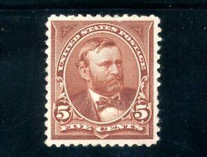 USAstamps Unused VF US 1894 Bureau Issue Grant Scott 255 NG