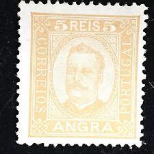 1892 Angra Postage Stamp Unused