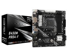 ASRock B450M Pro4-F mATX Carte mère pour AMD AM4 processeurs