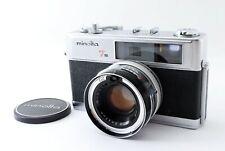 Minolta Hi-Matic 7s 35mm Rangefinder Camera 45mm f1.8 Lens from JAPAN 851183