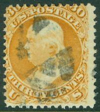 EDW1949SELL : USA 1861 Scott #71 Used Reperfed at bottom PSAG Cert Cat $190