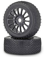 Räder (Carson)  Buggy Reifen/Felge verklebt,1:8 Off-Road, 17 mm Radmitn.,2 St.