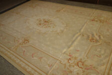 French Market Collection Handmade Fine Aubusson Carpet (European style) #11