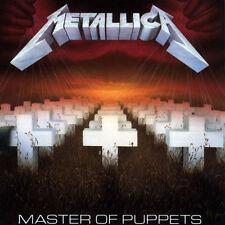 Metallica MASTER OF PUPPETS 3rd Album BLACKENED RECORDINGS New Sealed Vinyl LP